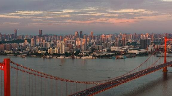 Wuhan Metropole China