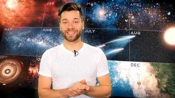 Moderator von WWW-das Universum in einem Jahr entstanden wäre