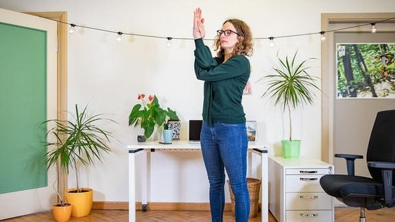 Yoga - Adlerarme