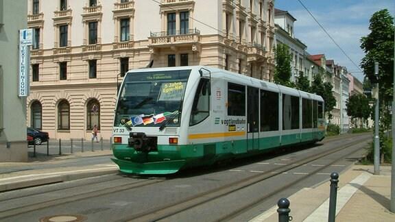 Vogtlandbahn in Zwickau