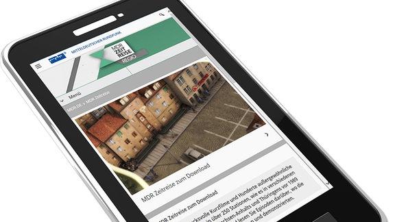 App-Download MDR Zeitreise