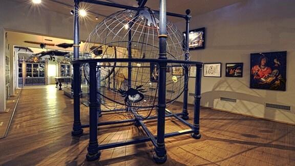 Blick in eine Ausstellung