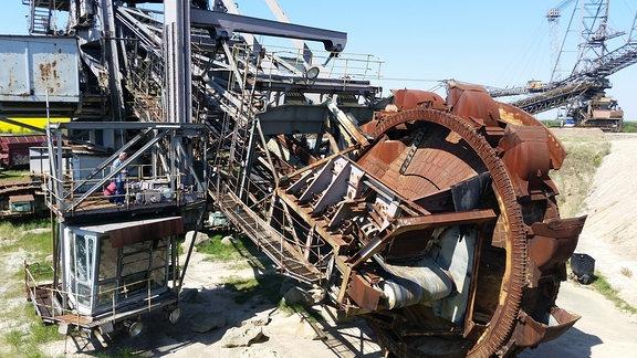 Schaufelradbagger