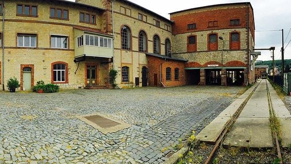 Die Zuckerfabrik in Oldisleben.