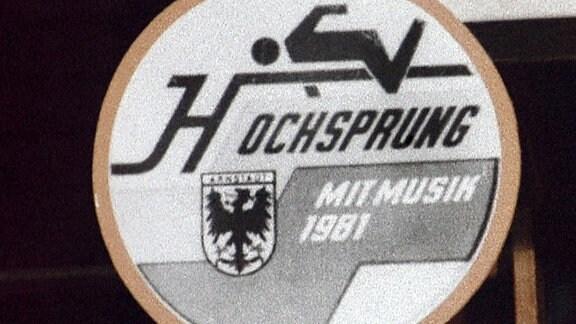Logo des Arnstädter Hochsprung-Wettbewerbs.