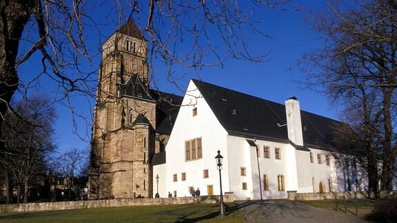 Schlosskirche und Schlossbergmuseum in Chemnitz