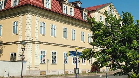 Fassade Neues Palais Arnstadt