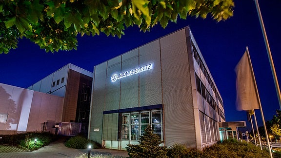 Die Union Werkzeugmaschinenfabrik in Chemnitz.