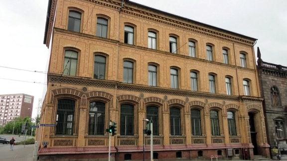 Bankgebäude in Halle