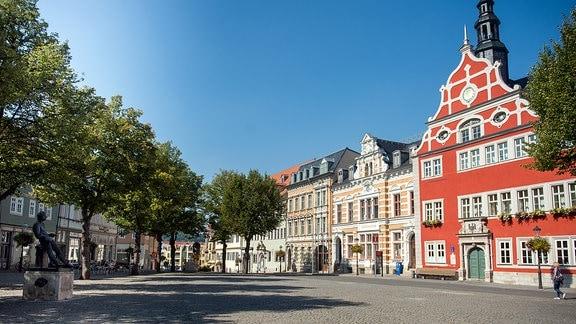 Marktplatz in Arnstadt