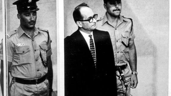 Adolf Eichmann vor Gericht