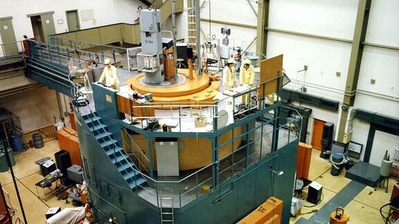 Forschungsreaktor des Zentralinstituts für Kernforschung Rossendorf.
