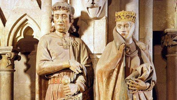 Eckehard und Uta von Naumburg im Naumburger Dom