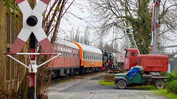 Eisenbahnmuseum Leipzig-Plagwitz