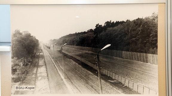 innerdeutsche Grenze am Checkpoint Bravo (Drewitz-Dreilinden)