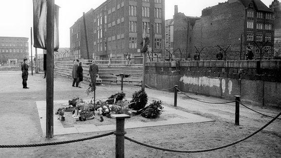 Gedenkstätte für Peter Fechter an der Berliner Mauer