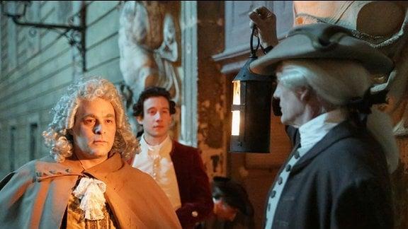 Making of: Canaletto - Bei den Dreharbeiten zum Film in der MDR-Reihe zur Geschichte Mitteldeutschlands 2014