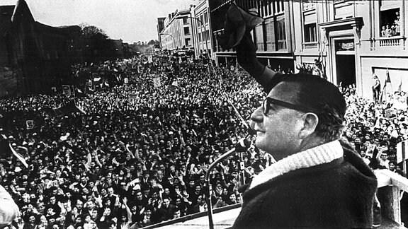 Salvador Allende, 1973