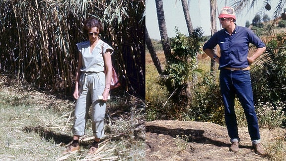 Die DDR-Ärzte Christa und Joachim Barth in Äthiopien.