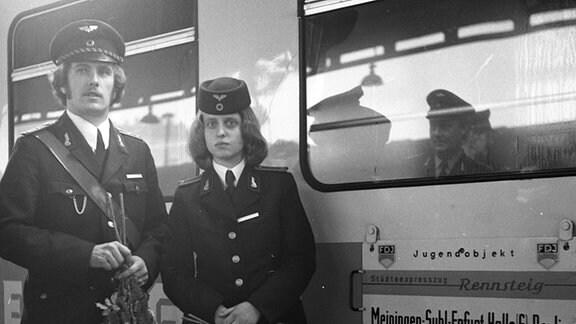 Ersttagsfahrt Städteexpress Rennsteig, 1976