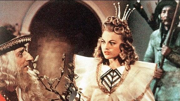 """Christel Bodenstein spielte 1957 in """"Das singende, klingende Bäumchen"""" die Prinzessin."""