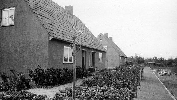 Danziger Dorf in Magdeburg, aufgenommen: 1937