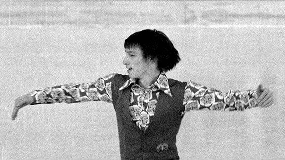 Eiskunstläufer Jan Hoffmann WM 1974 München