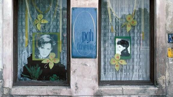 DDR-Friseurgeschäft; 1983