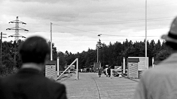 Grenzübergang bei Helmstedt 1948