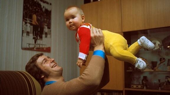 Ulrich Wehling mit seiner Tochter Jana