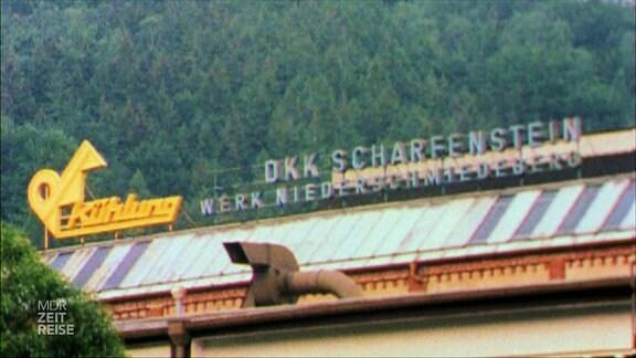 Das ehemalige Werk des Elektogeräte-Herstellers VEB DKK Scharfenstein.
