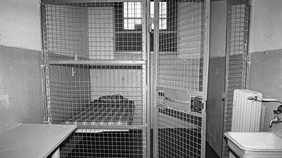 Zelle im Frauengefängnis Hoheneck