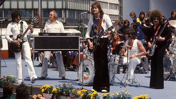 Dieter Hertrampf, Peter Meyer, Dieter Birr, Klaus Scharfschwerdt und Harry Jeske, 1973