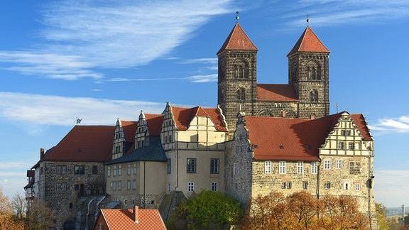 Burgberg mit Stiftskirche St. Servatius