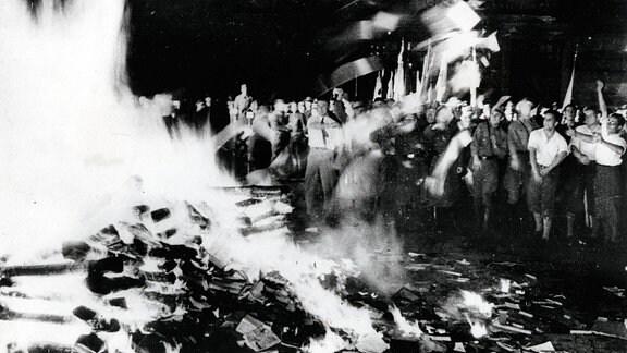 Bücherverbrennung Berlin 01.05.1933
