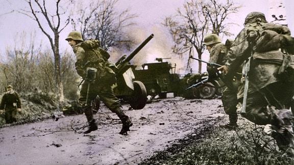 Grenadiere der Waffen-SS während der Ardennenoffensive
