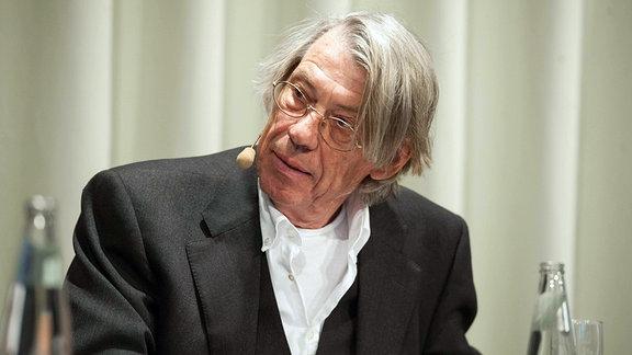 Hannes Heer anlässlich einer Szenischen Lesung