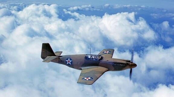 Jagdflieger P-51 Mustang der US Air Force (1942)