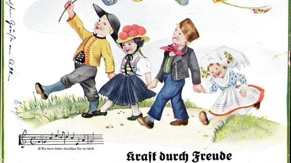 Illustration - Lied Kraft durch Freude