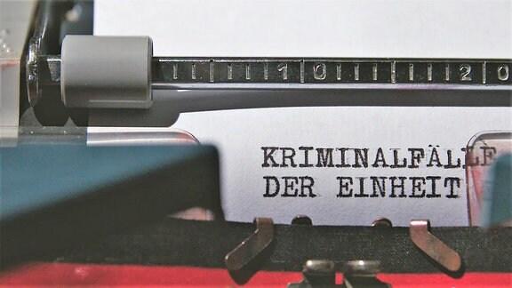 Kriminalfälle der Einheit