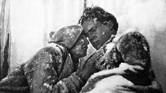 """Leni Riefenstahl im Film """"weiße Hölle am Piz Balü"""""""