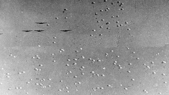 Luftlande-Manöver der Roten Armee 1935 bei Kiew