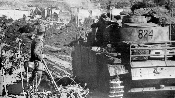Panzer IV der Wehrmacht nahe Belgorod 1943