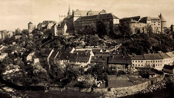 Schloss Ortenburg in Bautzen (Sachsen, 1934)