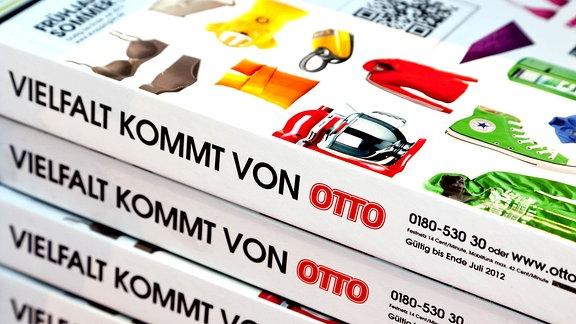 Kataloge des Versandhauses Otto