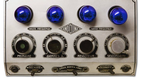 Altes Ondolina Röhrenradio von 1920