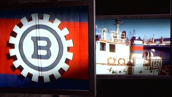 BBB steht bis heute für Bagger-, Bugsier- und Bergungsreederei Rostock. Die BBB war zu DDR-Zeiten die größte Spezialreederei Europas und hatte einen Maschinenpark von 140 Fahrzeugen