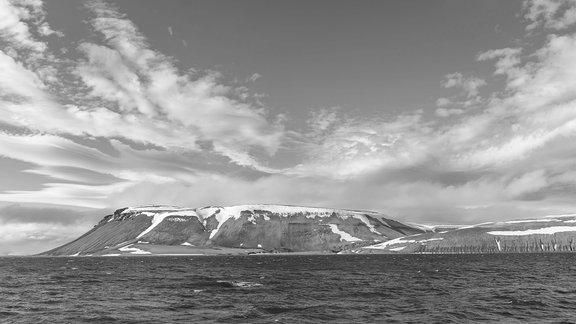 Küste von Nordostland Nordaustlandet