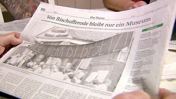 Zeitung Bischofferode