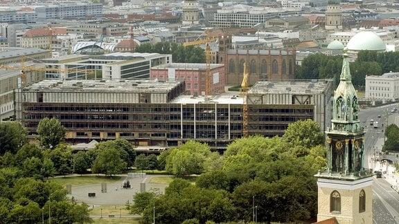 Abriss des Palastes der Republik in Berlin, 2006